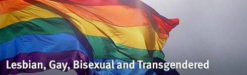 Lesbian, gay, bisexual and transgendered (LGBT) banner